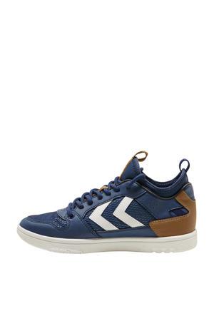Power Play Sock  sneakers blauw/bruin