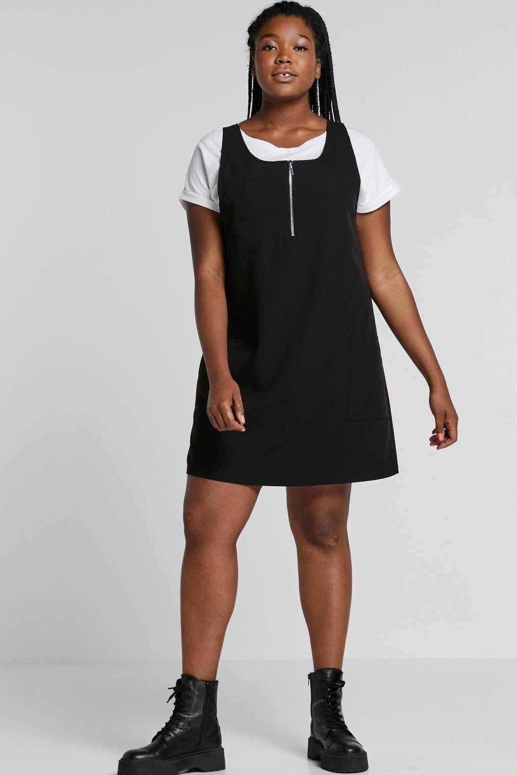 8081650a911efe Simply Be jurk met zakken zwart | wehkamp