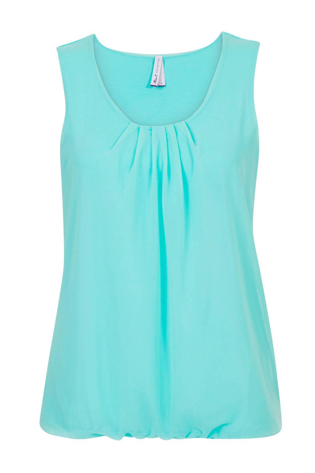 Miss Etam Regulier top turquoise, Turquoise