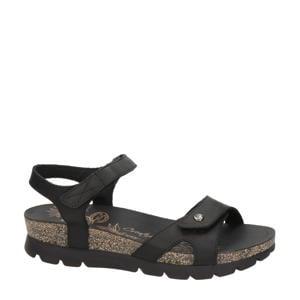 Sulia Basics Sulia Basics nubuck sandalen zwart