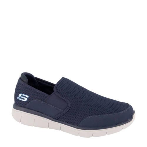 Skechers slip-on instappers blauw