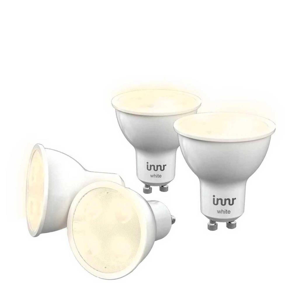 innr  LED lamp GU10 - RS 225 4-stuks wit, Wit