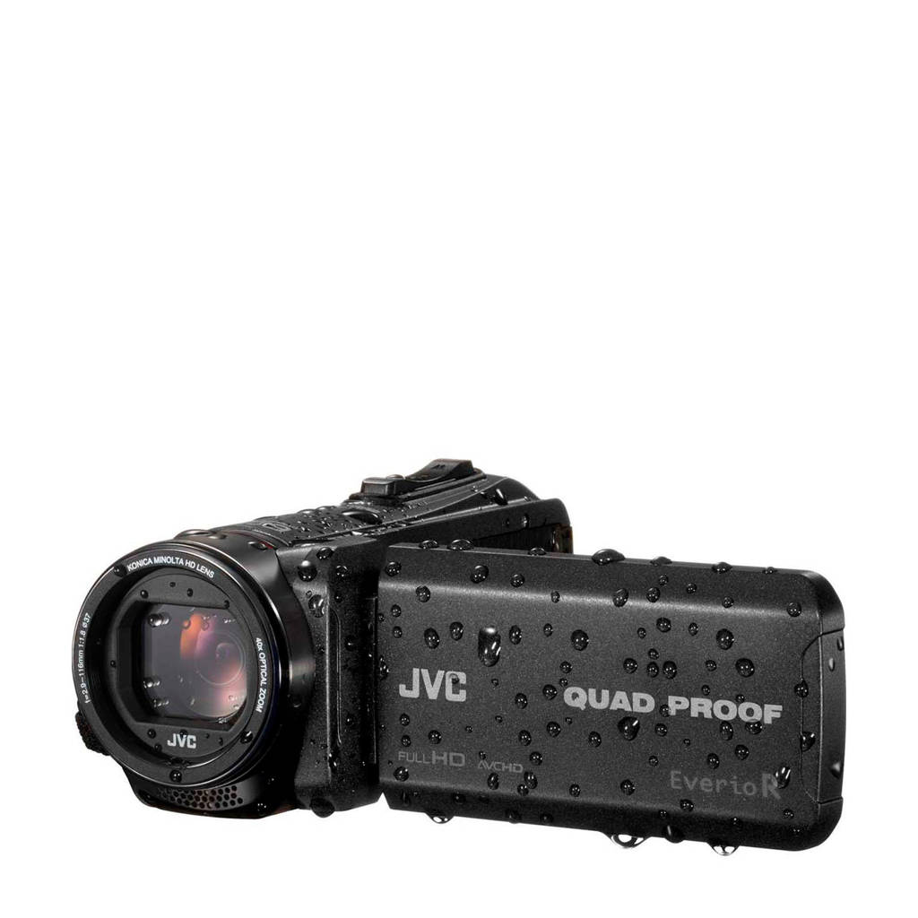JVC GZ-R445BEU camcorder, Zwart