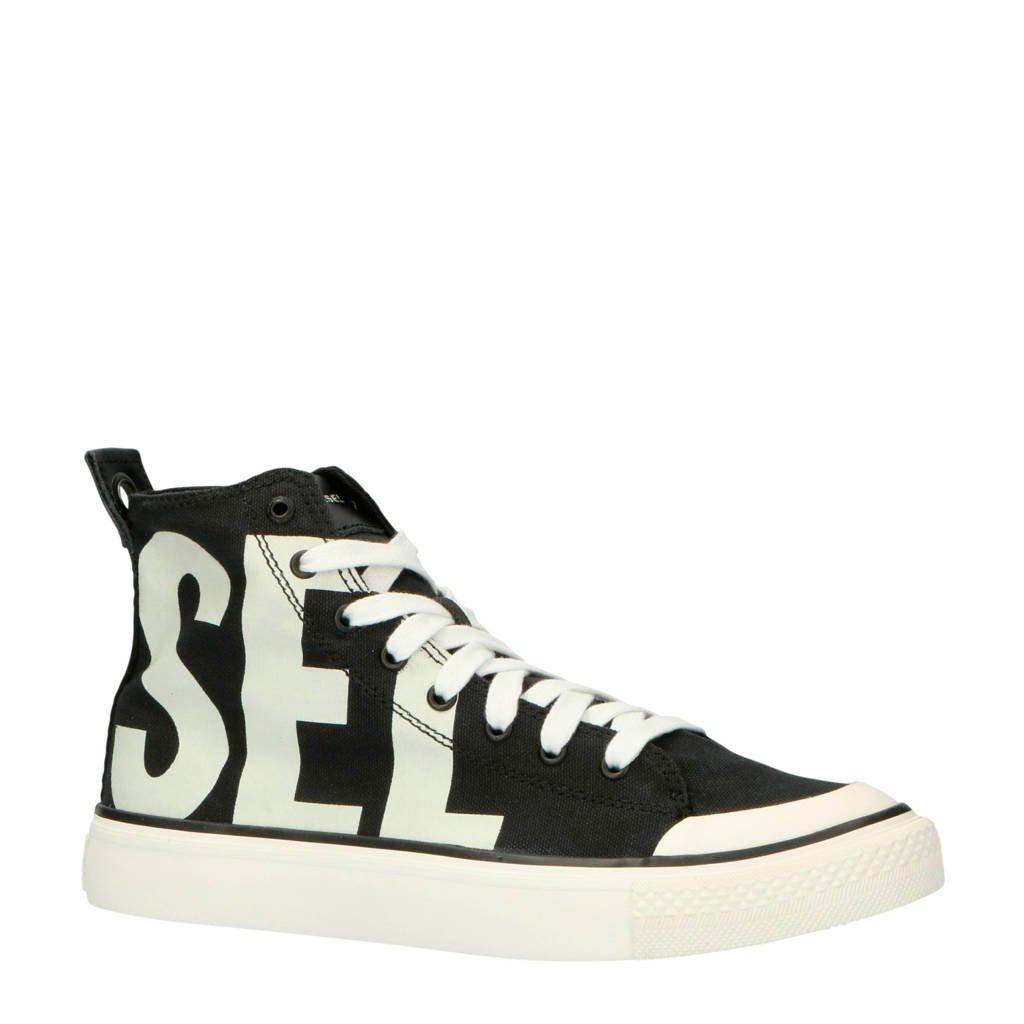 Diesel S-ASTICO MC sneakers zwart/wit, Zwart/wit