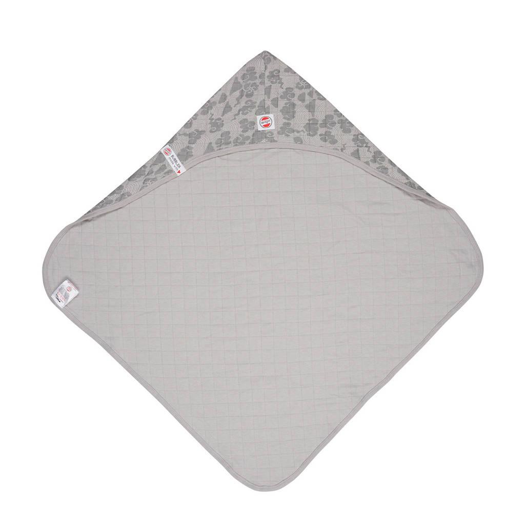 Lodger badcape Bubbler Solid grijs, Grijs
