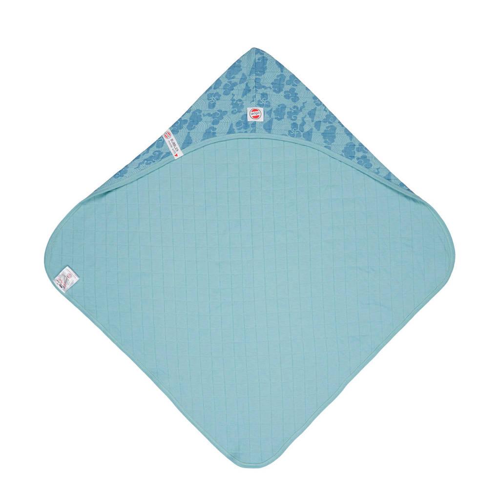 Lodger badcape Bubbler Solid lichtblauw, Blauw