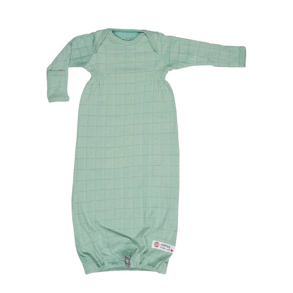 Lodger baby slaapzak zomer Hopper Newborn Solid  0-4 mnd groen, Groen