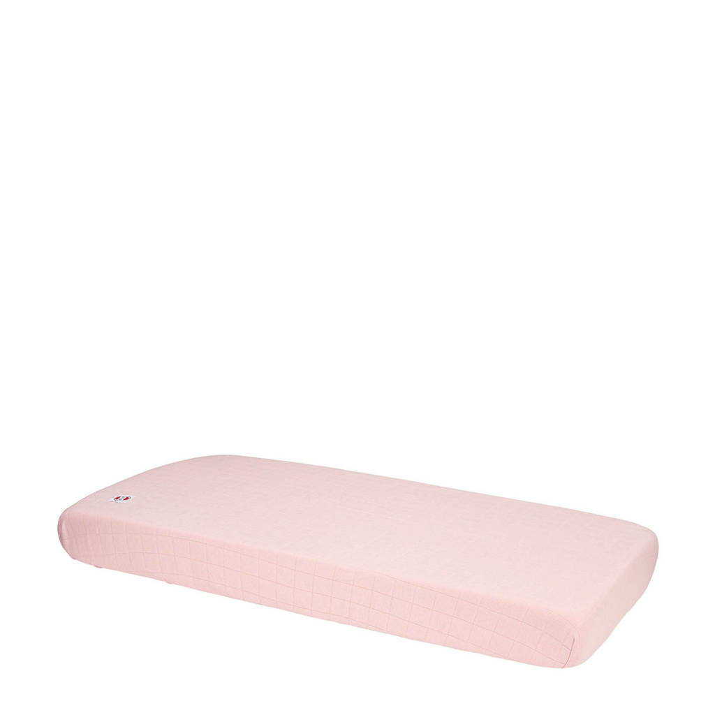 Lodger katoenen katoenen hoeslaken ledikant 70x140 cm roze Roze