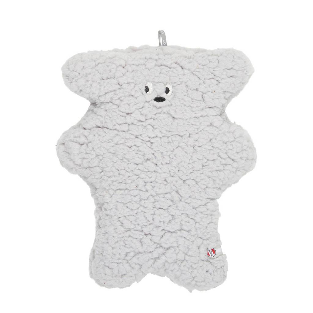 Lodger knuffel Fuzzy Sherpa Scandinavian grijs knuffel 28 cm, Grijs