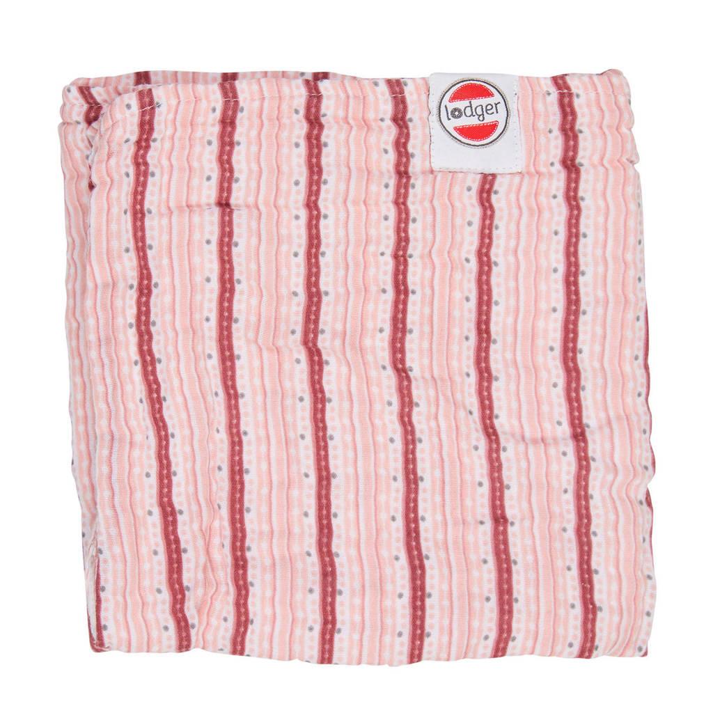Lodger babydeken Dreamer Muslin Xandu 120x120 cm roze, Roze