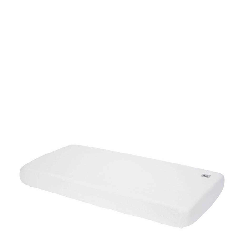 Lodger katoenen katoenen hoeslaken ledikant 70x140 cm wit Wit