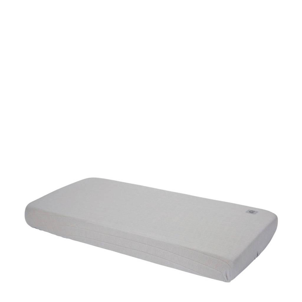 Lodger katoenen katoenen Slumber Solid hoeslaken 40 x 80 cm grijs Grijs