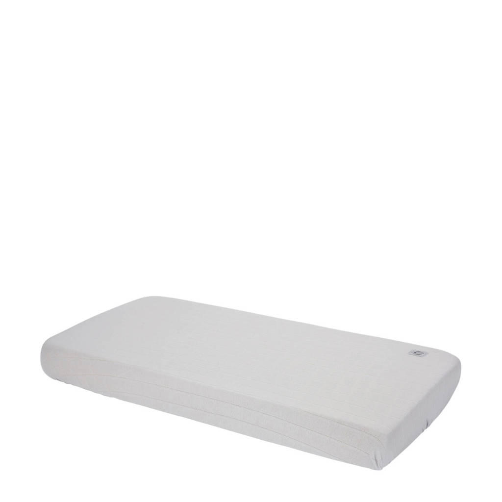 Lodger katoenen katoenen hoeslaken ledikant 70x140 cm grijs Grijs
