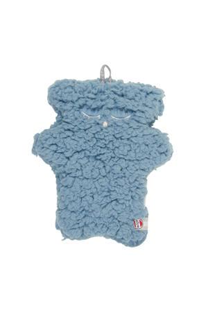 knuffel Fuzzy Sherpa Scandinavian blauw 10 cm knuffel 10 cm