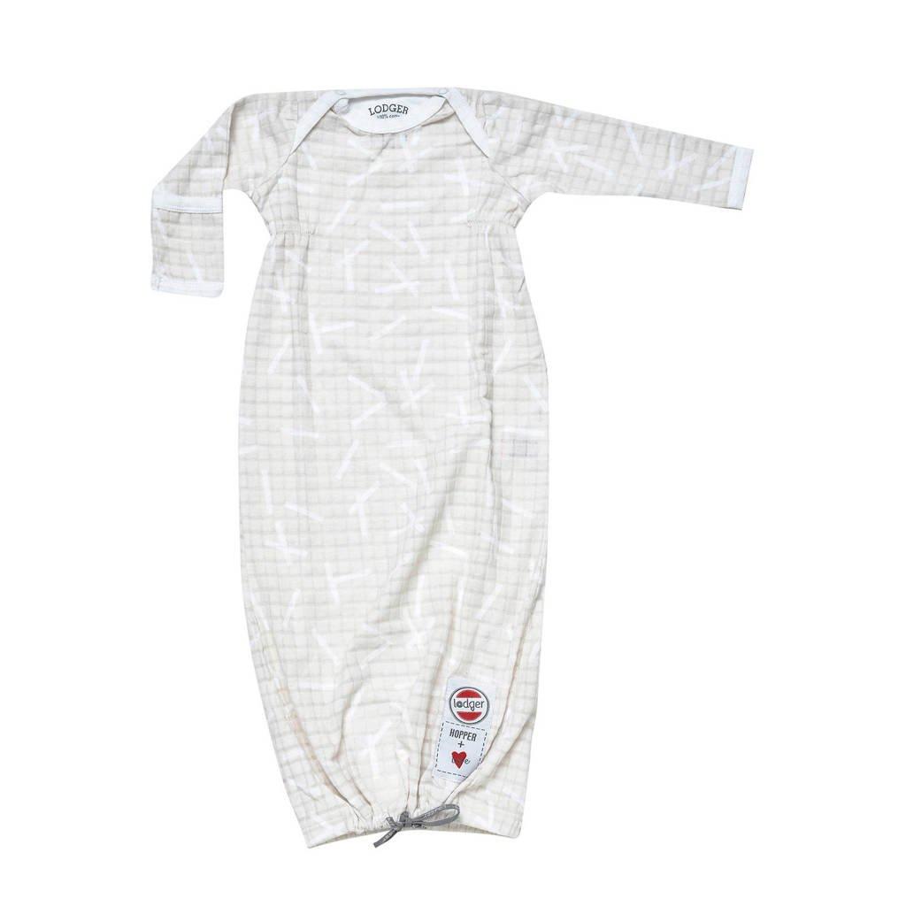 Lodger baby slaapzak Hopper Newborn Sprinkle  0-4 mnd ecru, Ecru