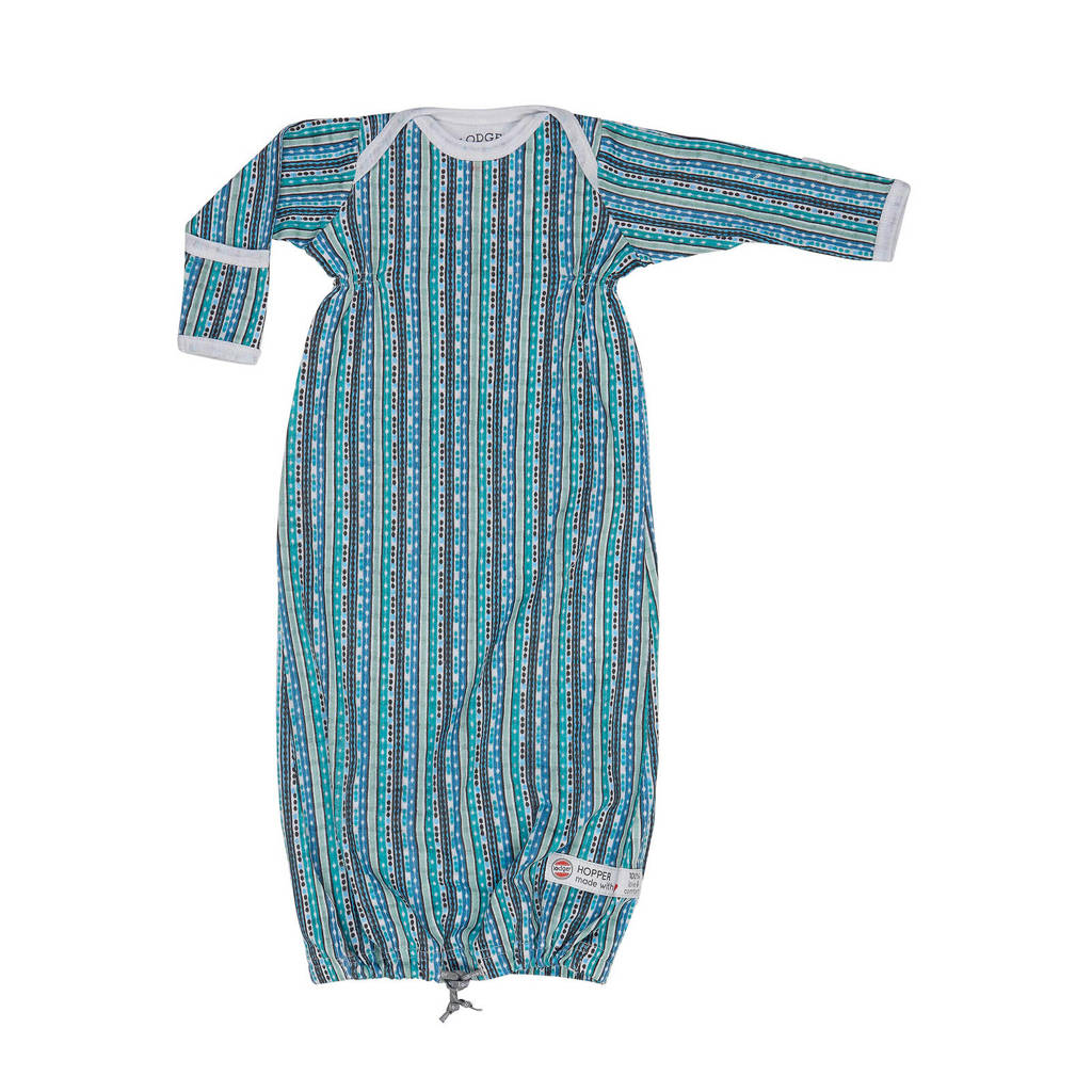 Lodger baby slaapzak zomer Hopper Newborn Xandu 0-4 mnd blauw, Blauw
