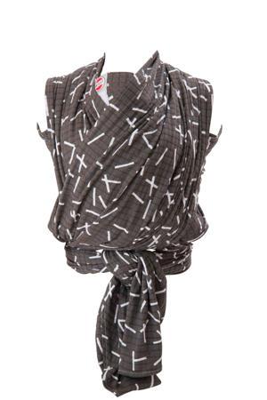draagdoek Cocooner Botanimal zwart
