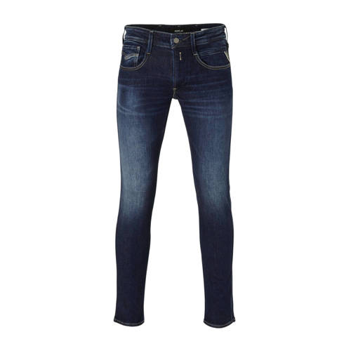REPLAY slim fit jeans Anbass dark blue