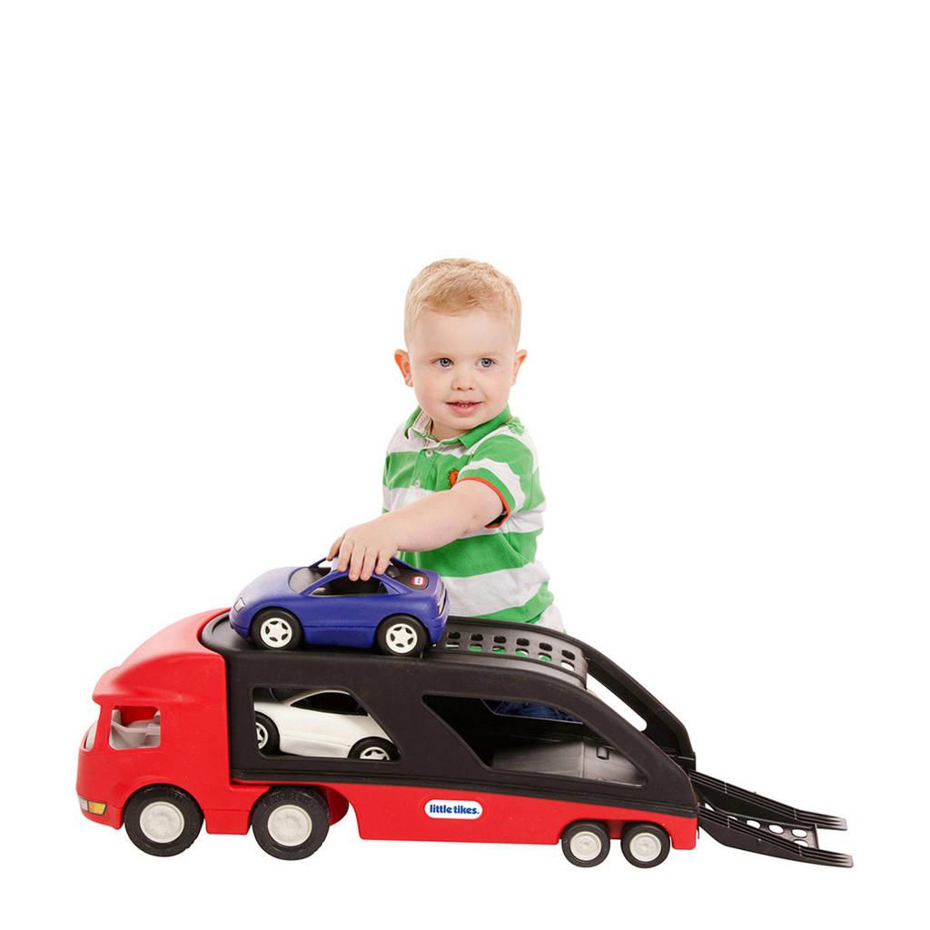 Little Tikes  autotransporter rood, Rood/zwart