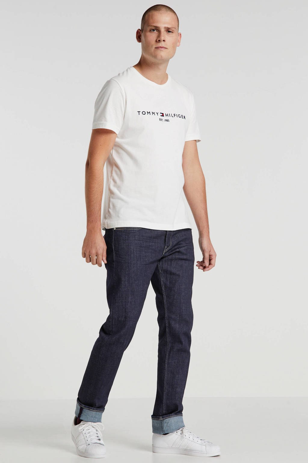 REPLAY straight fit jeans Grover, Dark Blue