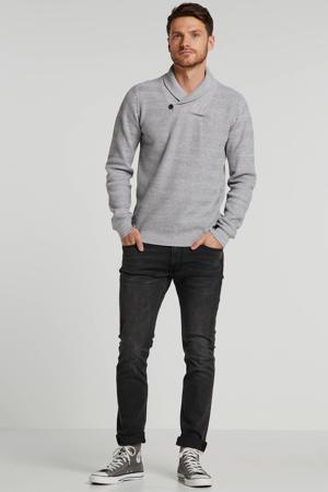 skinny fit jeans Luke moto grey