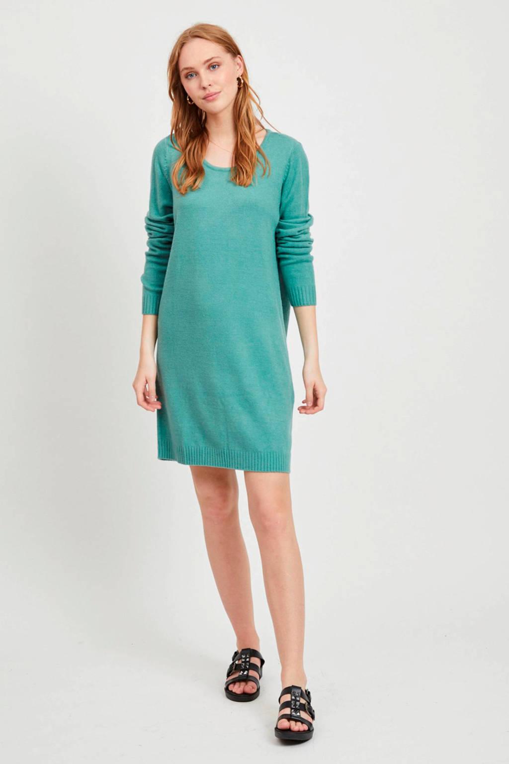 VILA jurk turquoise, Turquoise