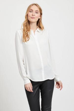 blouse met plooien VILUCY ecru
