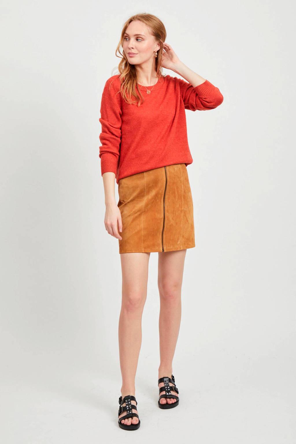 VILA trui rood, Rood