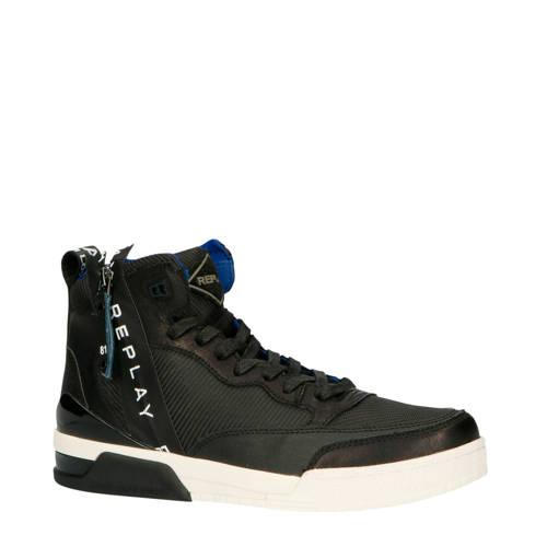 REPLAY RZ1R0002S hoge sneakers zwart