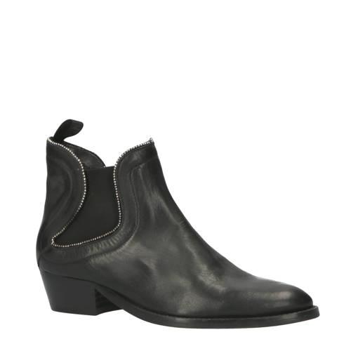 REPLAY New Gipsy leren chelsea boots zwart