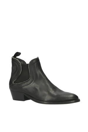 New Gipsy leren chelsea boots zwart