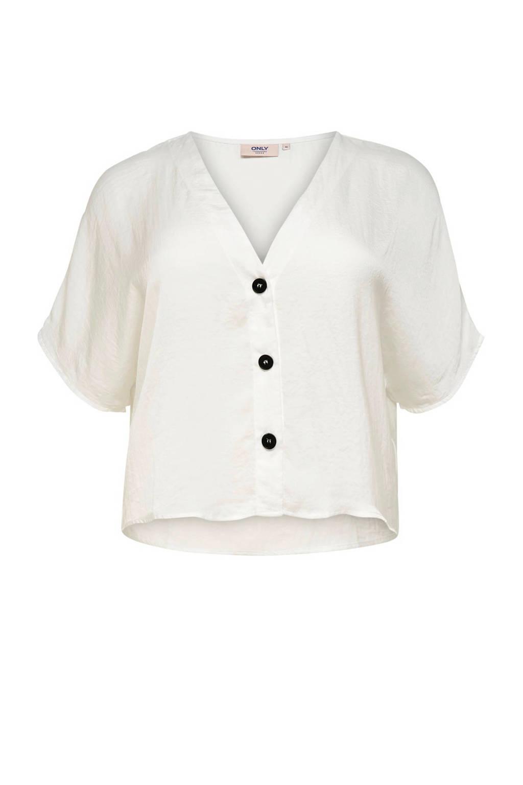 ONLY carmakoma blouse ecru, Ecru