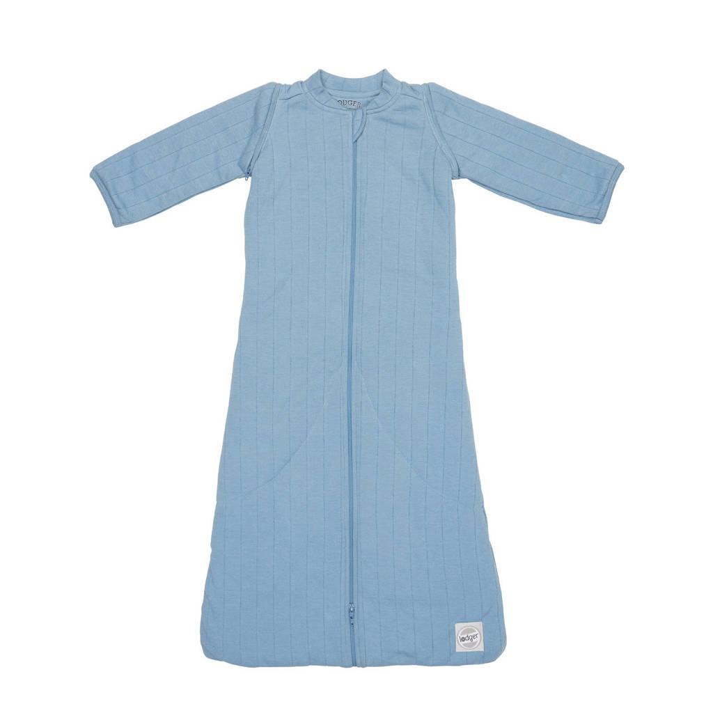 Lodger baby slaapzak Hopper Sleeves Solid blauw, Blauw