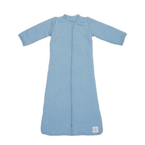 baby slaapzak Hopper Sleeves Solid blauw