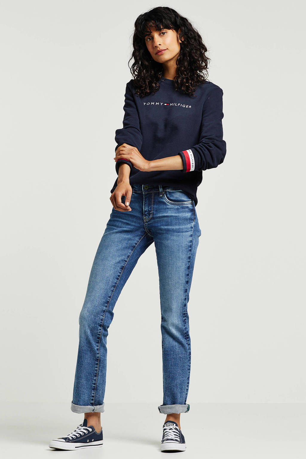 Pepe Jeans straight fit jeans Piccadilly, Blauw