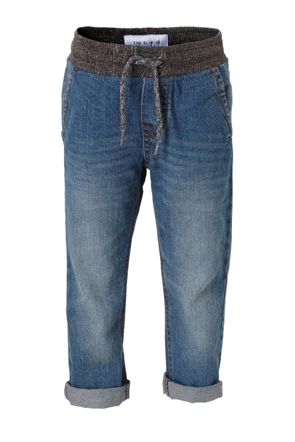 C&A Palomino slim fit jeans, Blauw