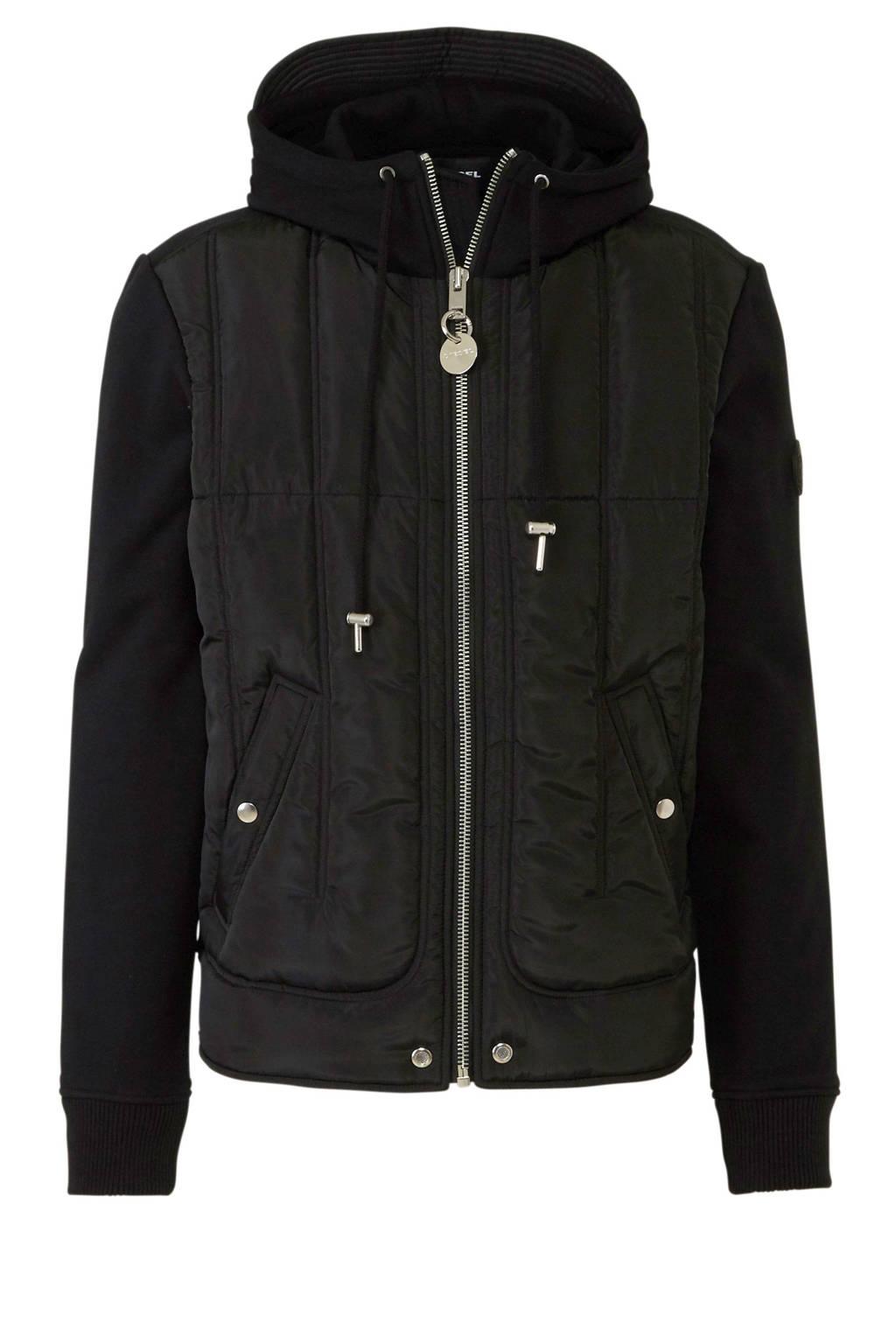 Diesel jas, Zwart