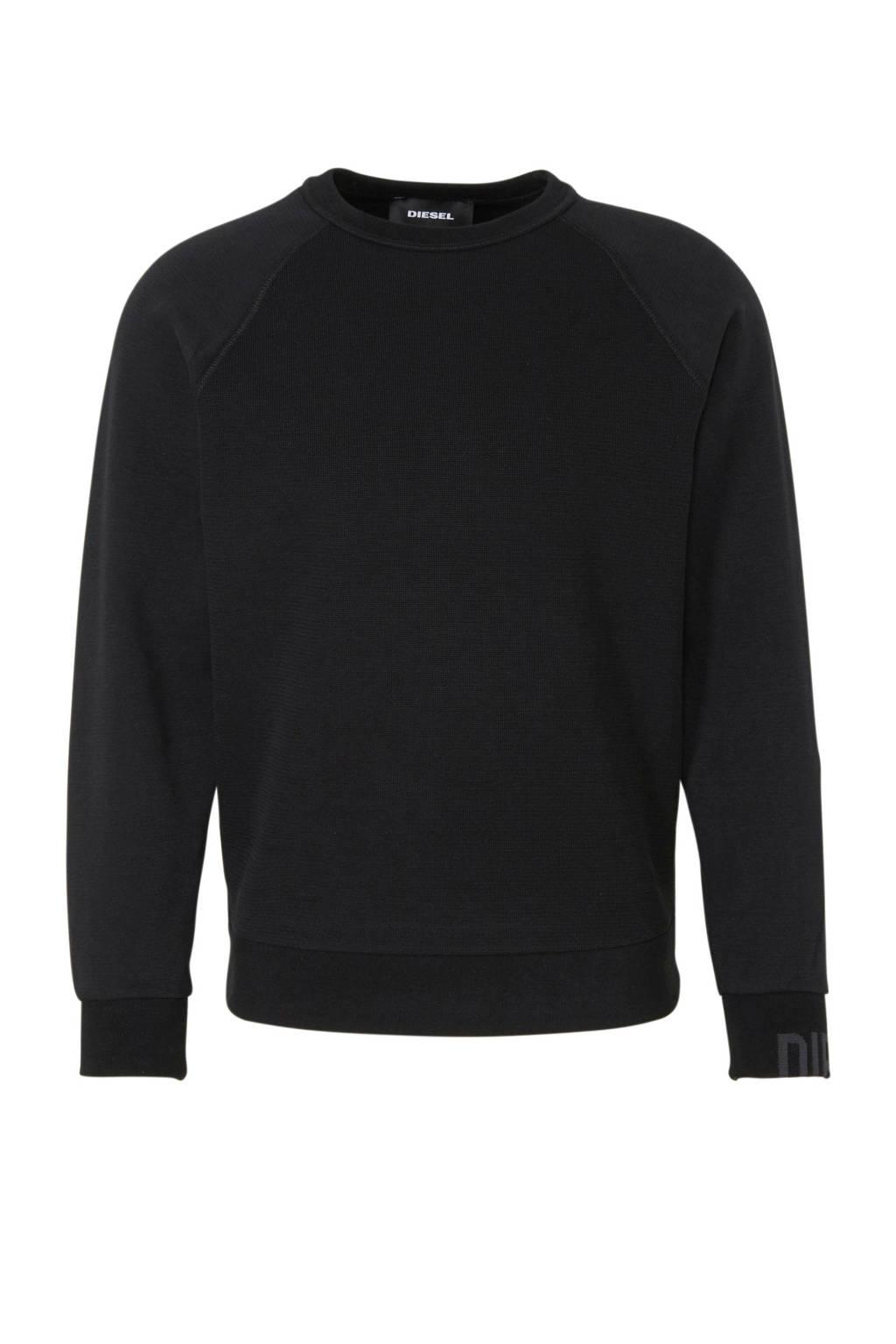 Diesel sweater, Zwart