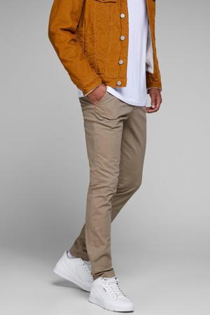 slim fit broek JJIMARCO JJBOWIE beige