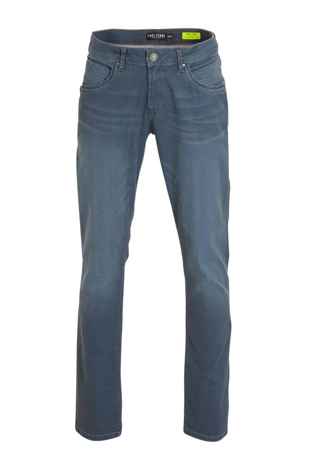 Cars regular fit jeans Henlow, Grey Blue