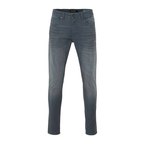 Cars tapered fit jeans Dan coated dark blue