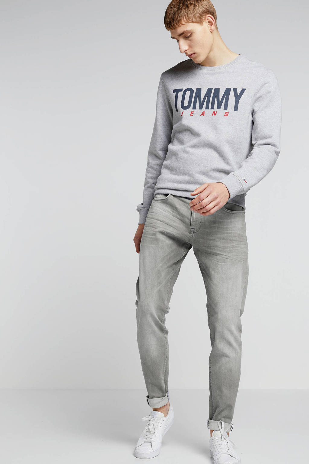 Cars tapered fit jeans Dan grey used, 13 Grey Used