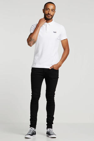 super skinny jeans Dust black black