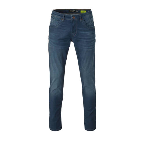 Cars regular fit jeans Henlow coated pale blue