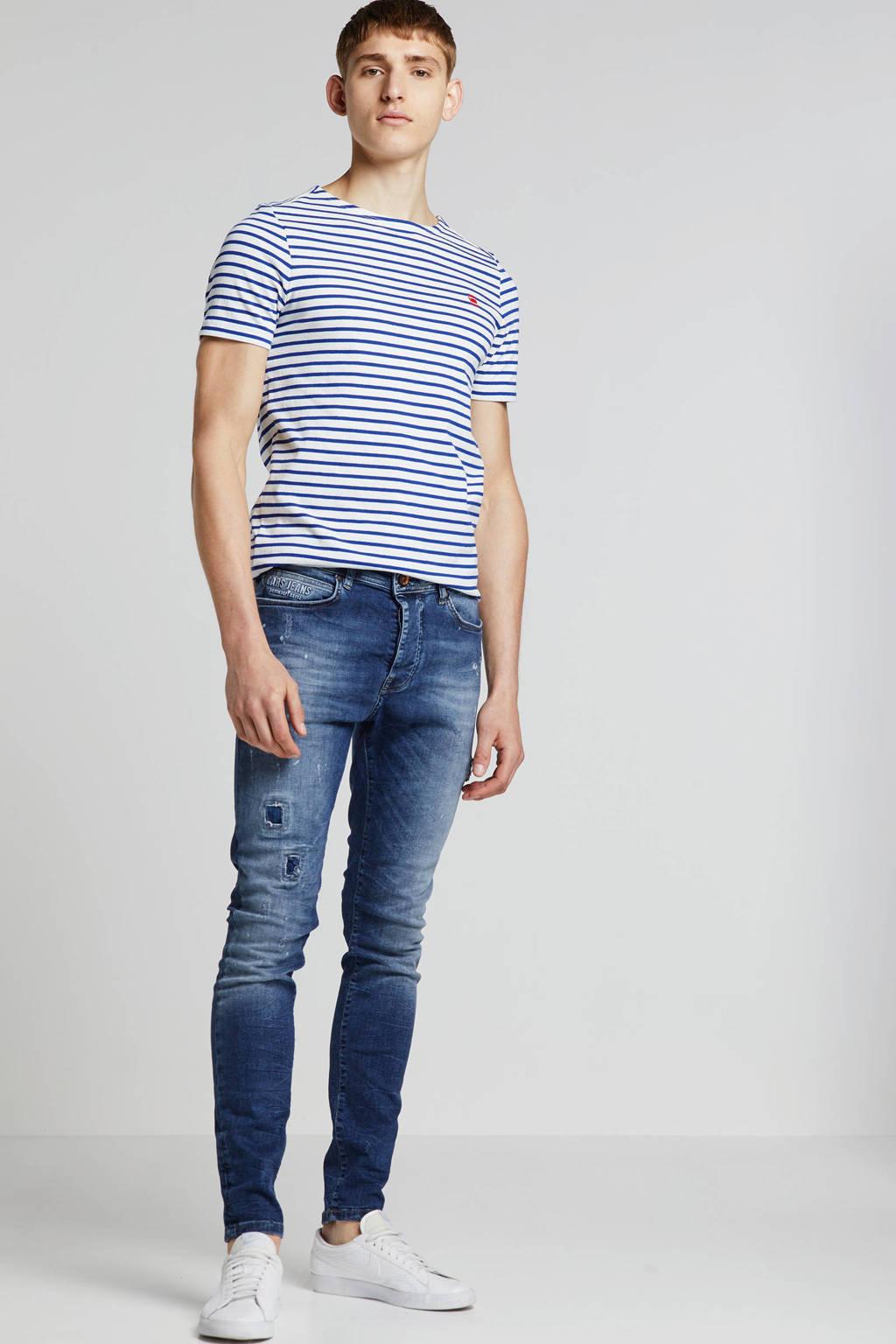 Cars super skinny jeans Aron dark used, Dark used