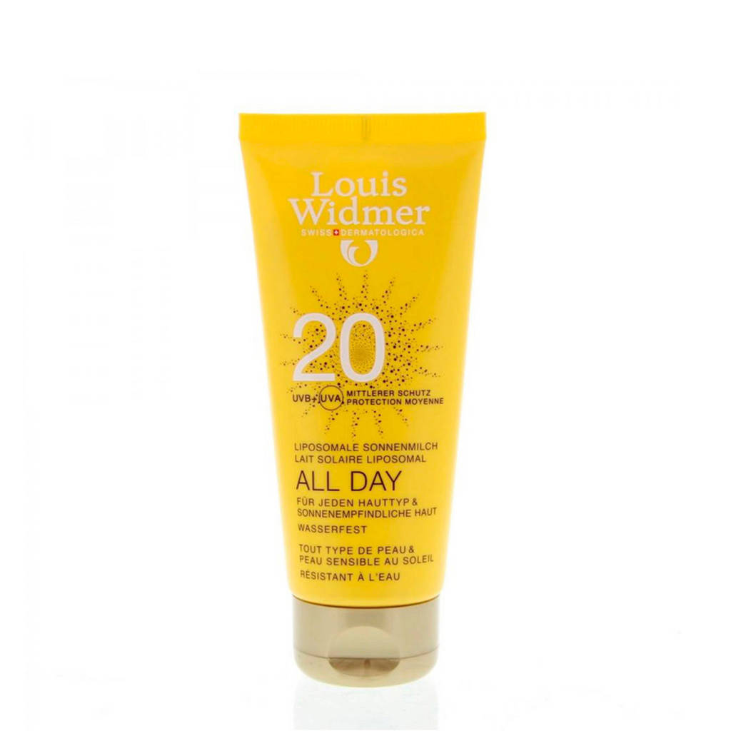 Louis Widmer All Day SPF20 zonnebrand - 100 ml