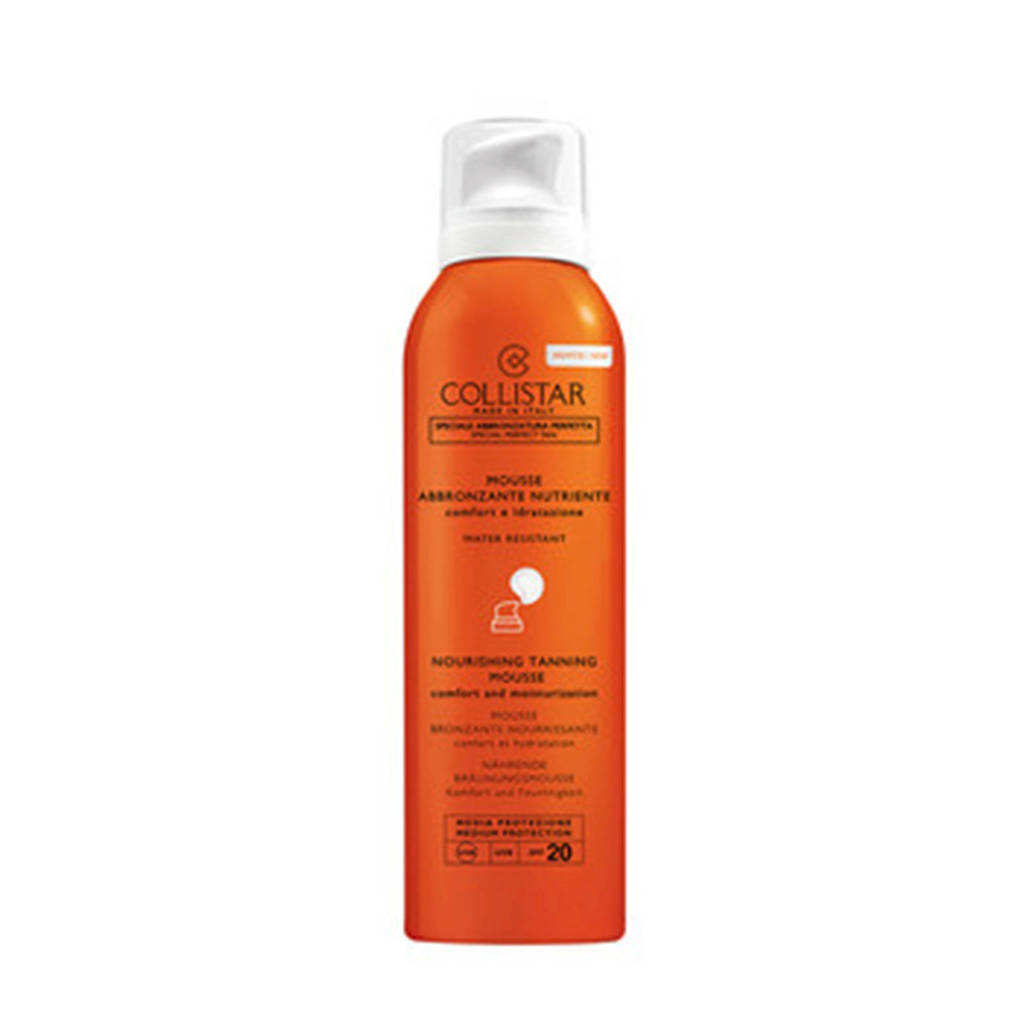 Collistar Nourishing Tanning Mouse SPF20 zonnebrand - 200 ml