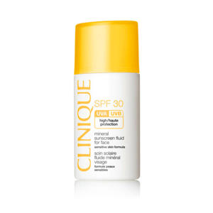 Mineral Sunscreen Liquid For Face - 30 ml