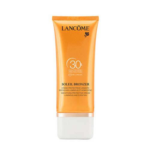 Lancôme Soleil Bronzer Smoothing Protective Cream Zonbescherming 50.0 ml
