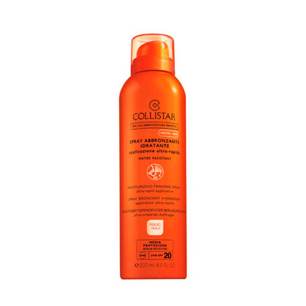 Collistar Sun Moisturizing Tanning Spray SPF10 zonnebrand - 200 ml